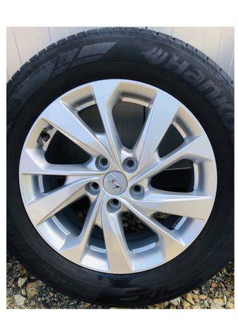 Koła opony+felgi Hyundai Tucson 225/60/17 Jak nowe ALU ET51