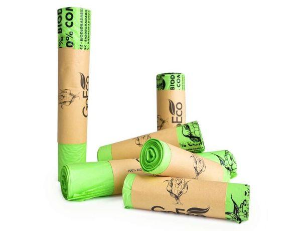 Biodegradowalne Ekoworki na śmieci 30 l 60 l 120 l / na psie odchody