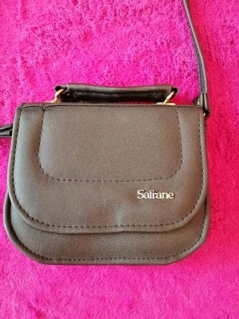 Mała nowa skórzana torebka Safrane