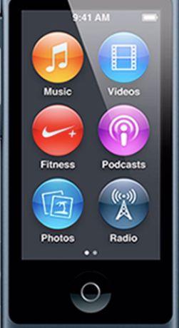iPod 7g nano grey 16 gb