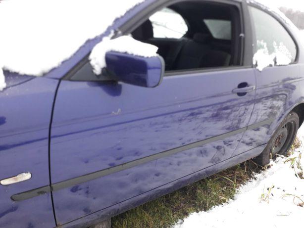 BMW e46 drzwi klapa maska Compact VELVETBLAU