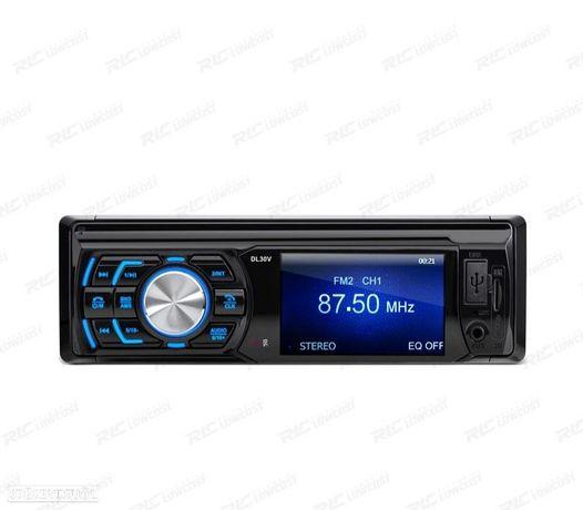 """AUTO RADIO 1DIN ECRÃ LCD 3"""" HD USB SD"""