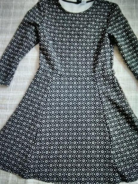 Sukienka rękaw 3/4 hm 36