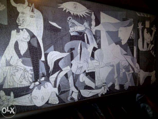 Guernica de Pablo Picasso - Quadro c/ Puzzle de 3000 peças