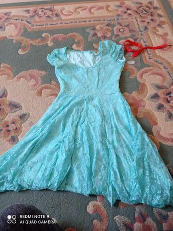 Sukienka damska miętowa