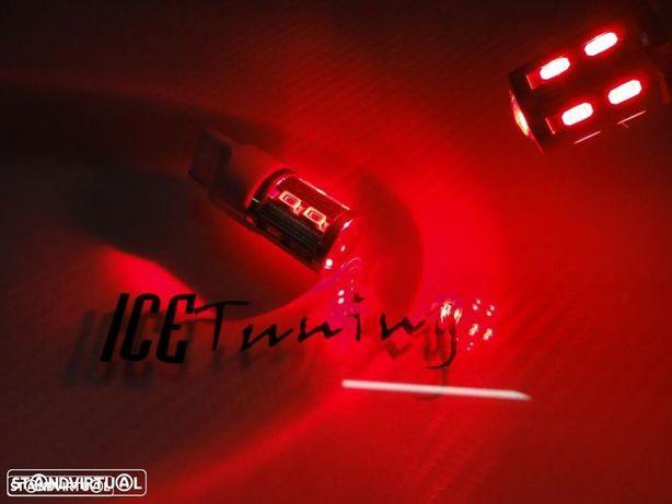 Led T20 / 7440 21W Vermelho 6.5W, 510 LUMENS 12V-24V LED SAMSUNG
