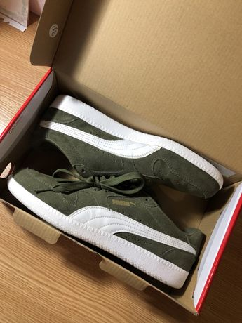 Кроссовки Puma Icra Trainer SD в цвете хаки