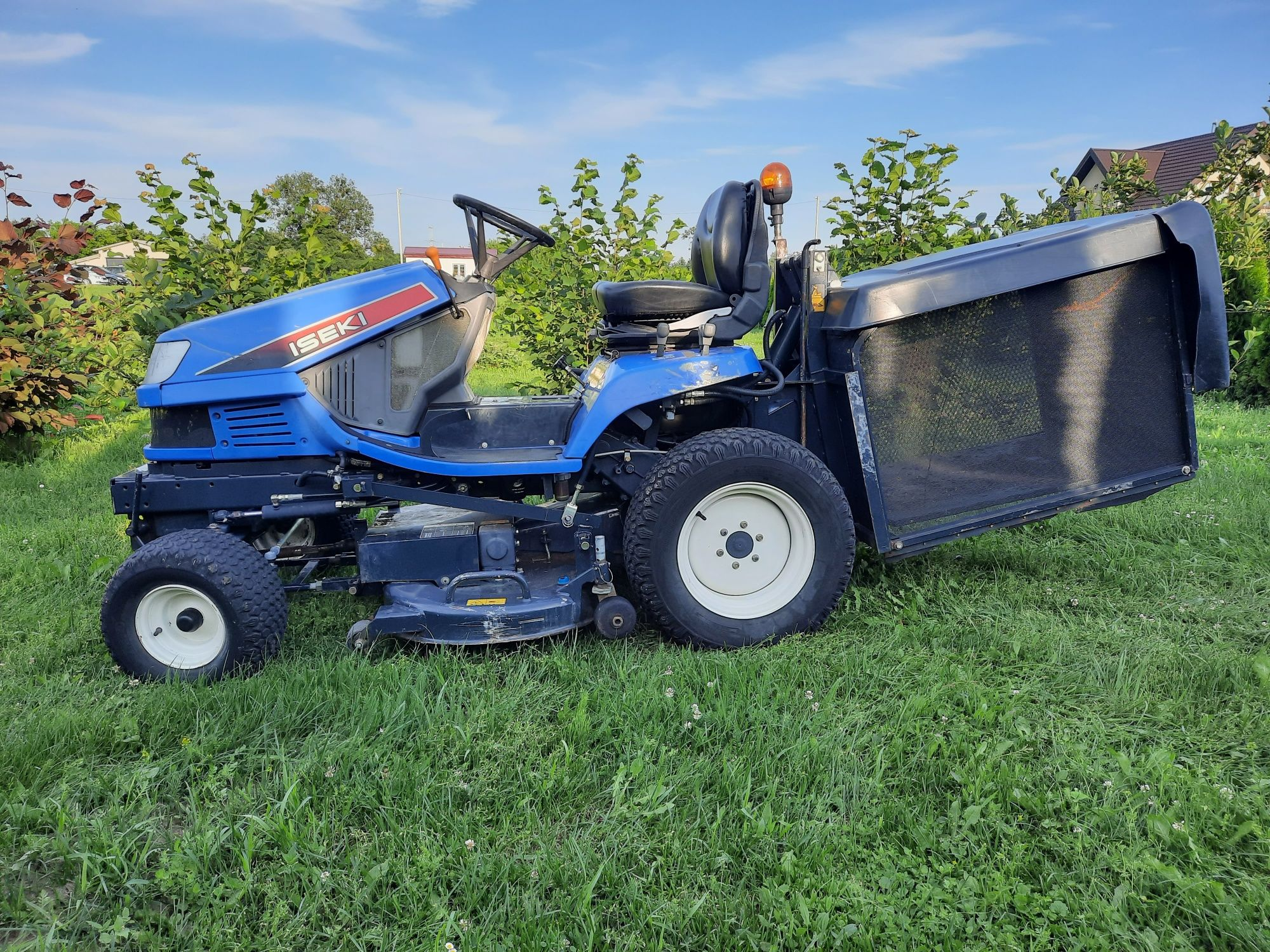 Profesjonalny Traktorek Kosiarka Iseki SXG22 Diesel 3cyl 636h 22KM