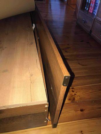 Łóżko z materacem 200/160