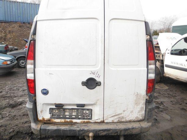 Fiat Doblo 1,3 lampa tylna, części FV transport/dostawa