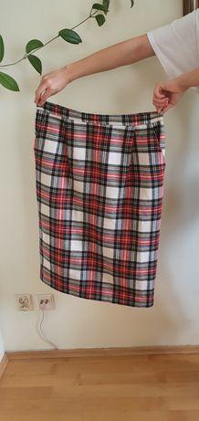 Vintage spódnica w kratę