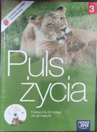 """""""Puls życia"""" część 3 podręcznik do biologii + ćwiczenia"""