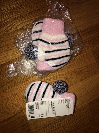 Варежки рукавички рукавички Wojcik Новые ! на 1-2 годика войчик