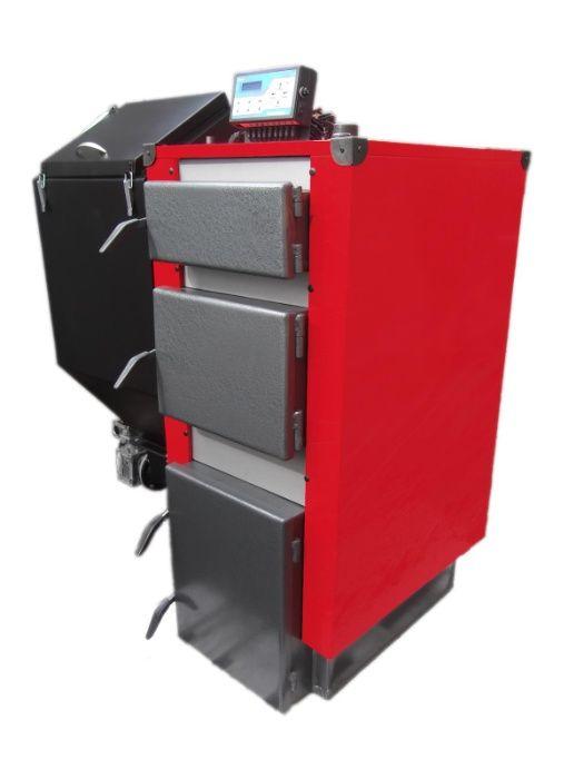 Kocioł piec z podajnikiem 16 kW do 100 m2 na eko-groszek Pleszew - image 1