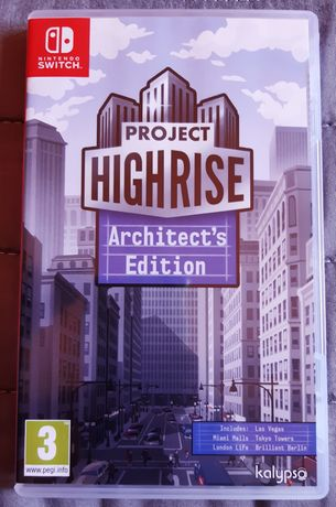 Nintendo switch - project highrise architect's edition