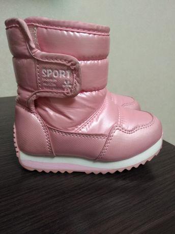 Зимові сапожки для дівчинки