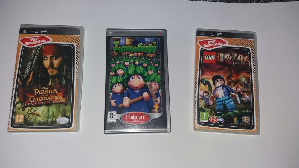Gry na psp harry potter pirates of the caribbean lemmings Inowrocław - image 1