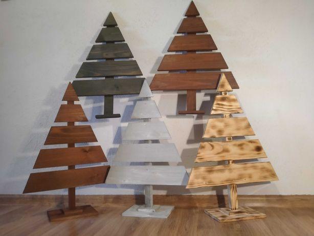 Choinka, drzewko z drewna, ozdoba, do decoupage