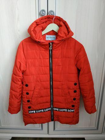 Куртка деми на 146-152см