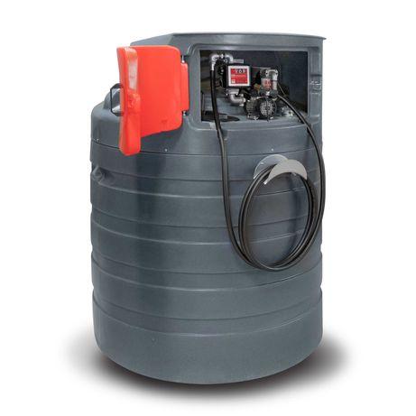 Zbiornik dwupłaszczowy na paliwo paliwa 1500L olej napędowy