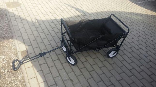 Wózek ogrodowy skladany nowy.
