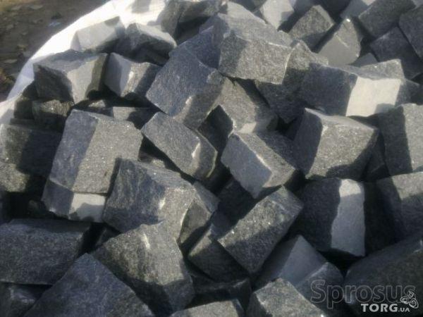 Продам гранітну бруківку різної форми, тонна бруківки 1100 грн!!!