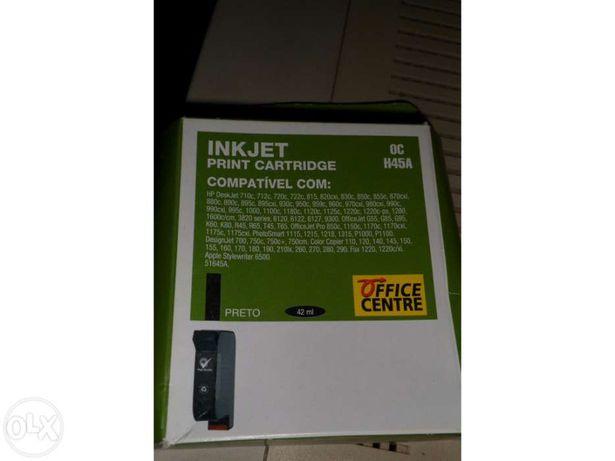 Tinteiro Preto novo compatível com impressoras HP