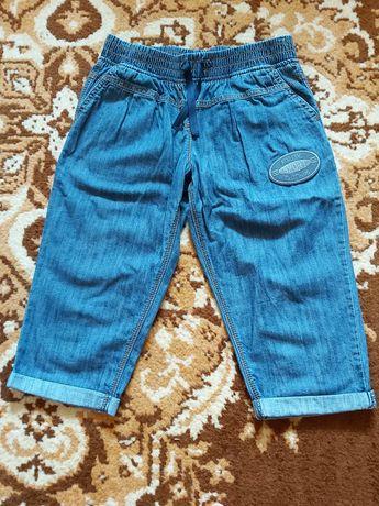 Продам детские лёгкие джинсовые капри
