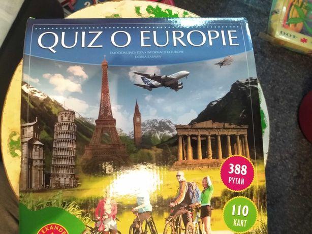 Quiz o Europie.