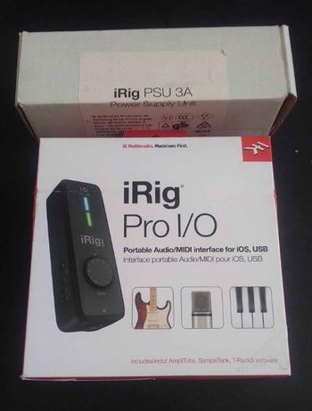 IK Multimedia iRig Pro I/O novo por estrear faço envio