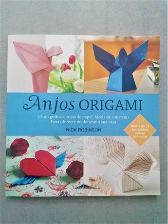 Anjos Origami - NOVO
