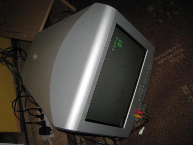 Mały telewizor Sony na działkę...
