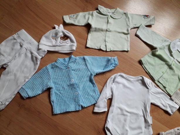 Komplet ubranek dla niemowlaka  56
