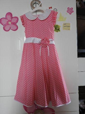 Sukienka balowa roz. 134-140