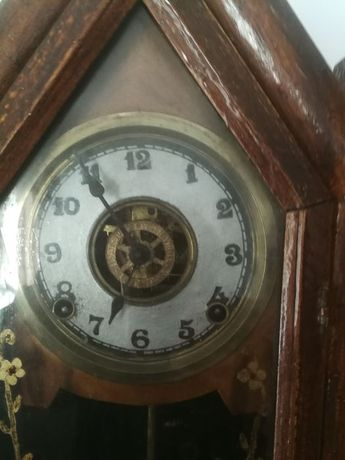 Relojo Antiguidade de Capelax WATERBURY CLOCK