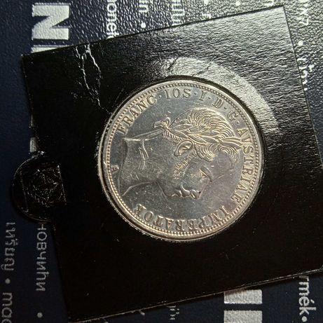 Austria 1 Florin 1860 srebro
