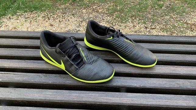 Сороконожки Nike phantom black/green(чёрный/зелёный)