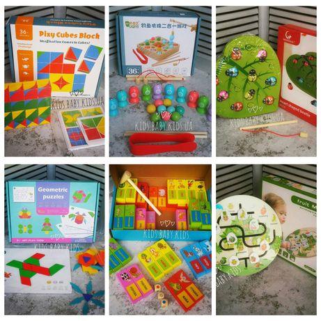 Магнитная рыбалка/развивающие игрушки/пазлы/мозаика/дженга