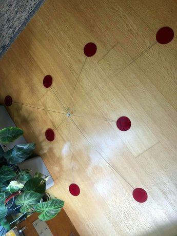 Ozdoba dekoracja na sufit ikea