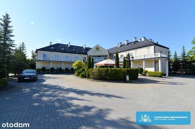 Hotel 2850 m2, działka 43,22 ara, Rzeszów.