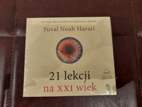 Yuval Harari 21 lekcji na XXI wiek audiobook CD nowy w folii