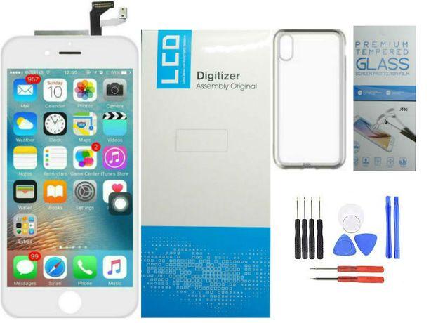 Wyświetlacz lcd iPhone 8 ekran, szybka, szkła hartowane
