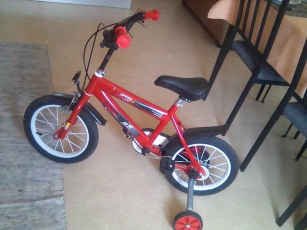 Bicicleta de menino, roda 16 -4-6anos