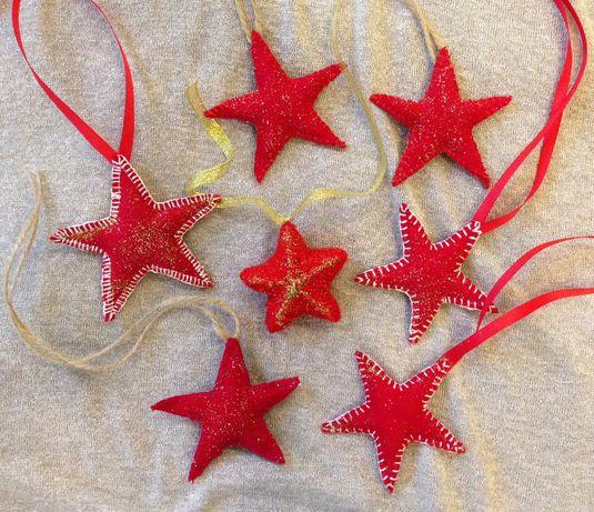 Декоративные звёзды, мягкая игрушка