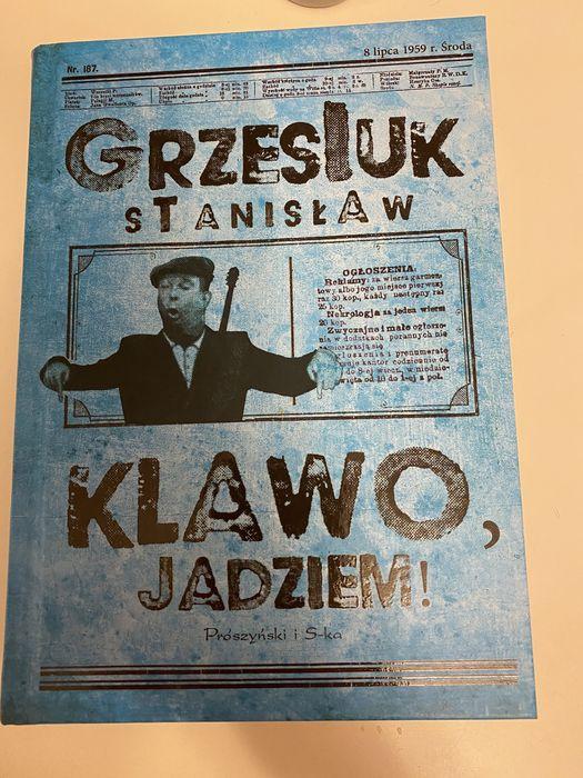 Książka pt Klawo Jadziem Warszawa - image 1
