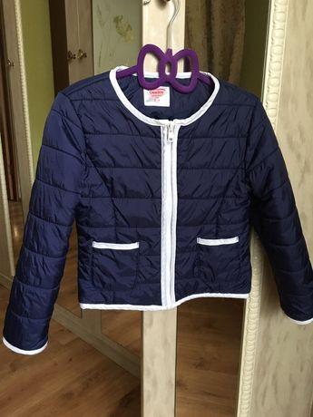 Куртка короткая демисезонная для девочки