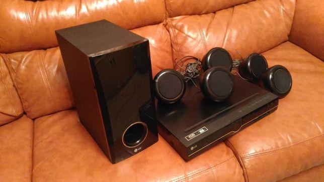Домашний кинотеатр lg ht356sd акустическая система ( dvd, cабвуфер, ко