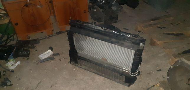 BMW e60 chłodnice wentylator 2.0d m47 163km