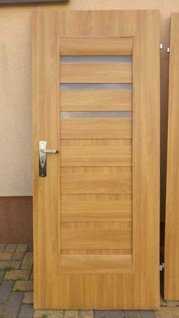 Drzwi wewnętrzne 3 sztuki.