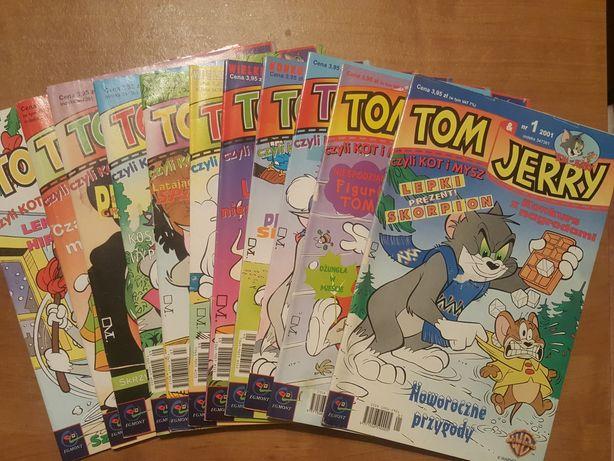 Tom & Jerry. Kompletny rocznik 2001. Komiks